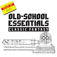 Free GM Resource: Old School Essentials Generators