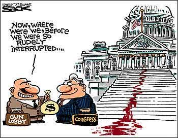 Forty Flying Fish: The US gun culture27th Amendment Cartoon