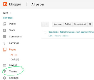 Demo and download button for blogger