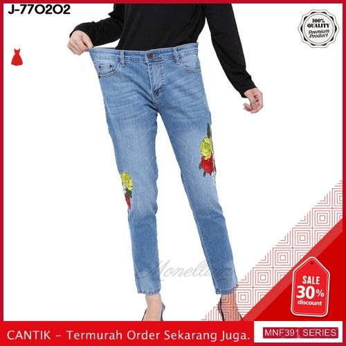 MNF391J101 Jeans 770202 Wanita Skinny Jeans Celana terbaru 2019 BMGShop