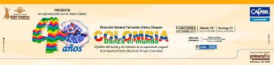 BALLET Tierra Colombiana celebra 40 AÑOS
