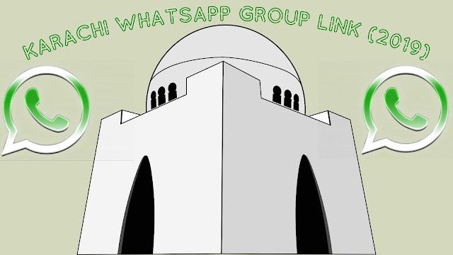 Latest Karachi Whatsapp Group Link For 2019 | Pakistani Whatsapp Group Links 2019 |