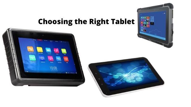 Choosing the Right Tablet