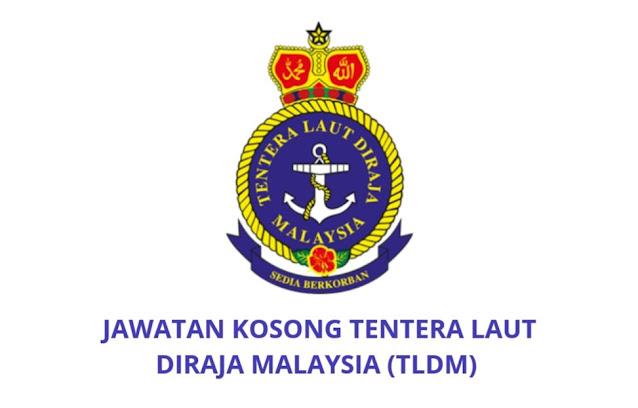Jawatan Kosong TLDM 2021 Tentera Laut Diraja Malaysia
