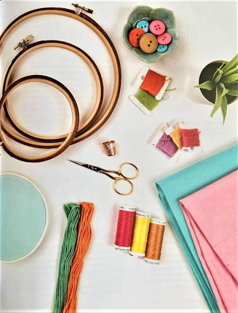 Embroidery supplies needed