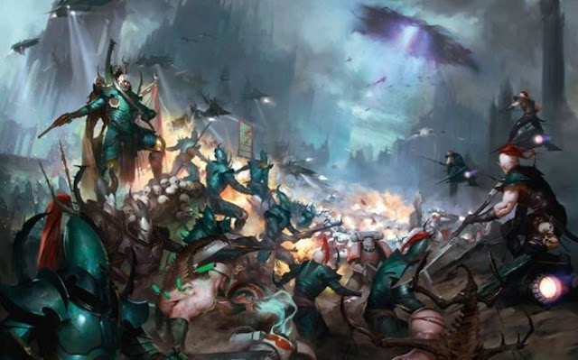 Drukhari Codex is up for Pre-Orders... Starter Box set, + Review Videos Links and Point Changes