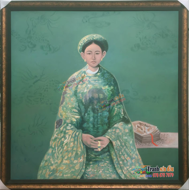 tranh vẽ nam phương hoàng hậu