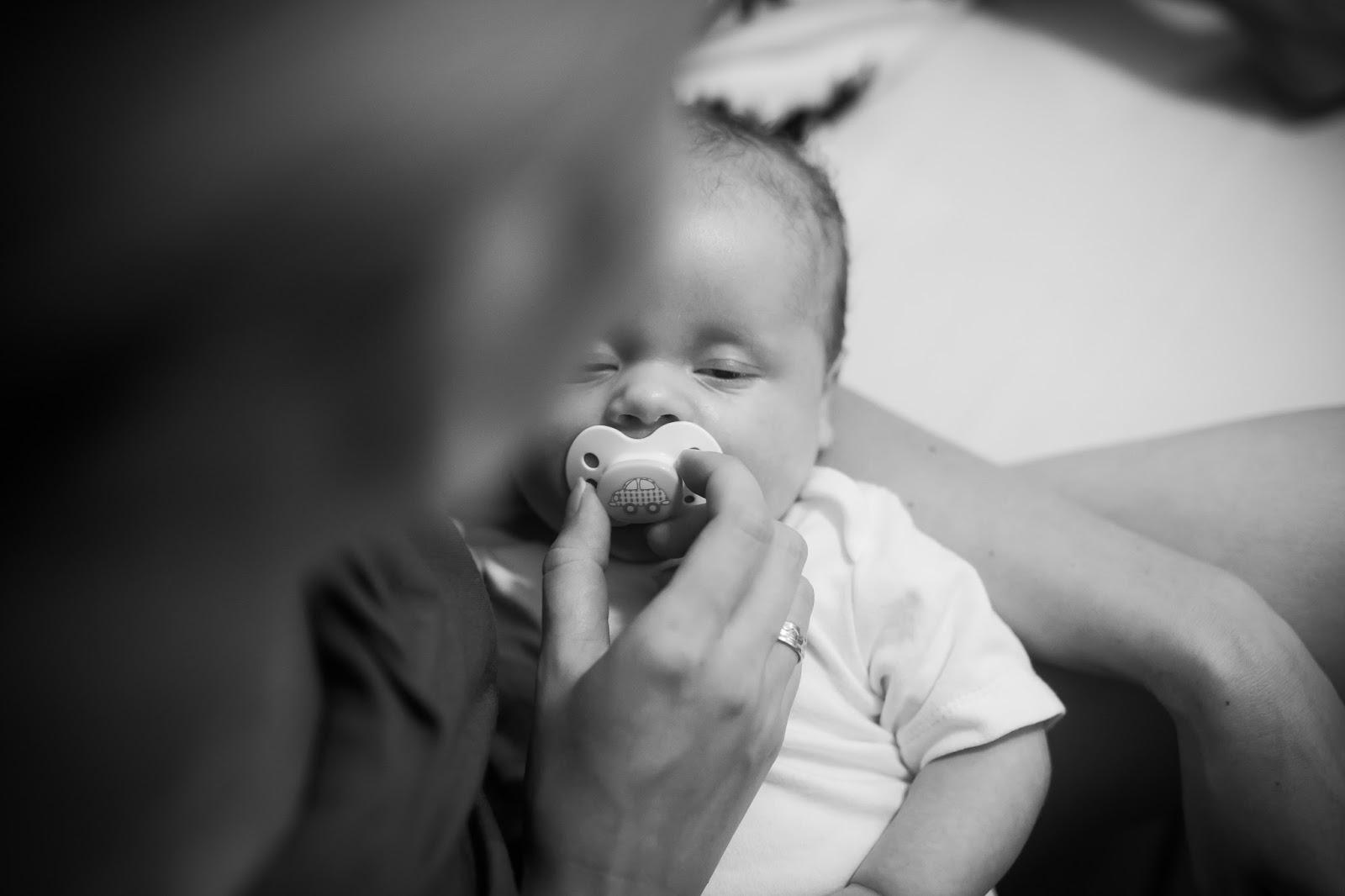 katar u niemowlaka dziecko