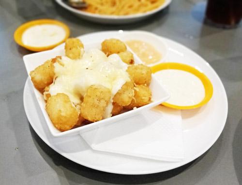 fish & pasta jogja potato cheese ball