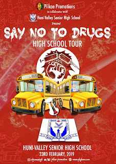 Huni Velley senior High School To Host The First Edition Of Piikae SayNoDrugs Shs Tour