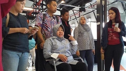 Walikota Surabaya Lemas, Dirawat Di RS dr. Soewandhi