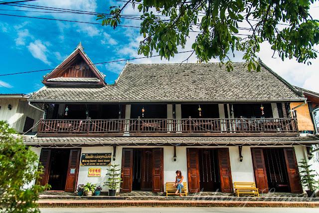 mekong sunset guesthouse luang prabang laos