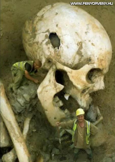 Rejtélyes leletek: Óriás annunaki csontok