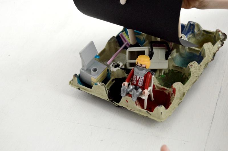 diy barco hueveras reciclar reutilizar