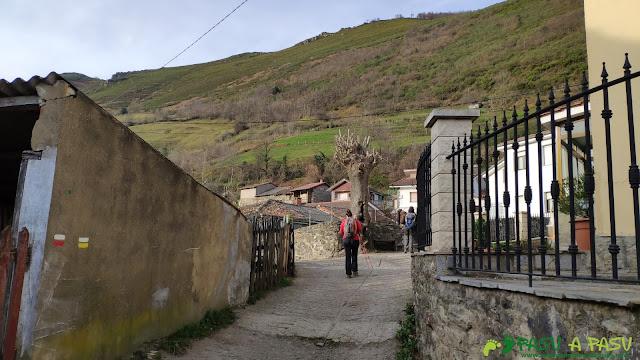 Calles de Llanos de Somerón, Lena