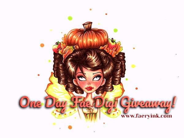 One Day Fae Digi Giveaway - Ophelia Fall Fae