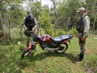 Moto roubada em Cabeceiras é recuperada em Campo Maior