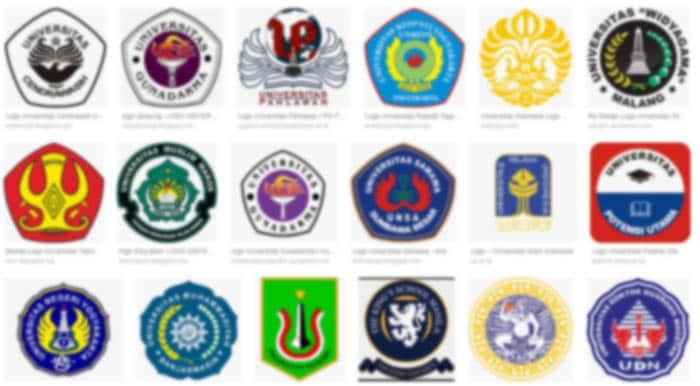 Download Logo Universitas, Sekolah Tinggi dan Institut di Indonesia format PNG