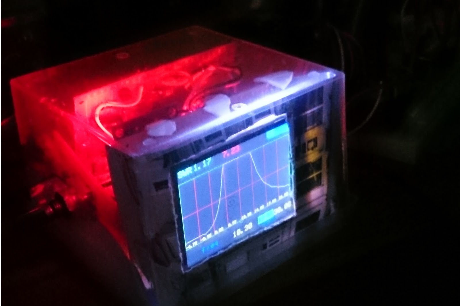 Learn On The Fly A Simple Standalone Antenna Analyzer