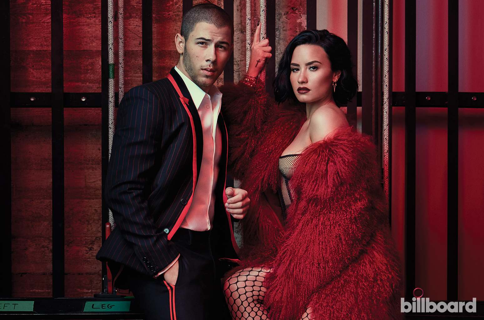 Demi Lovato & Nick Jonas – Glam Up for Billboard July 2016
