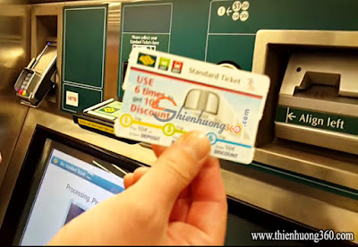 Mua thẻ Standard Ticket thành công