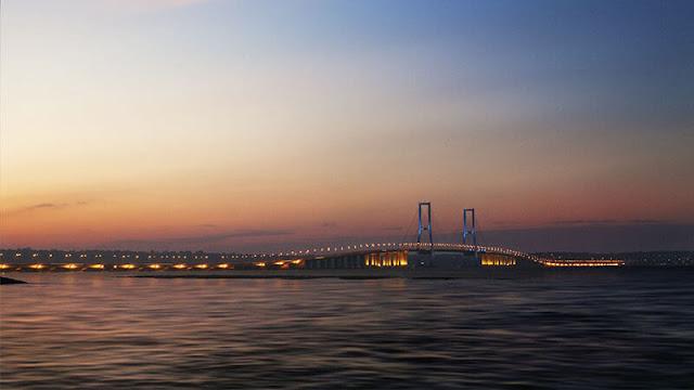 Berburu Foto Matahari Terbit & Terbenam Jembatan Suramadu