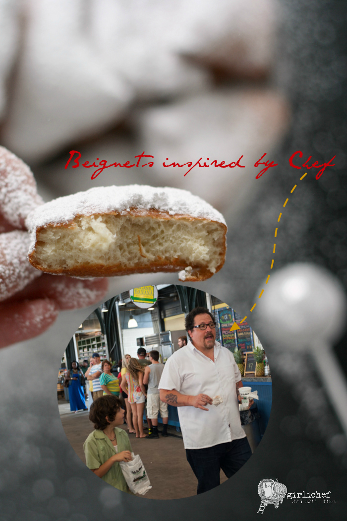 Beignets inspired by Chef for #FoodnFlix