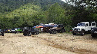 Rock Crawlin Camp Party in Kuroisawa!!!!!