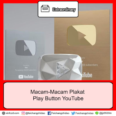 Macam-Macam Plakat Play Button YouTube