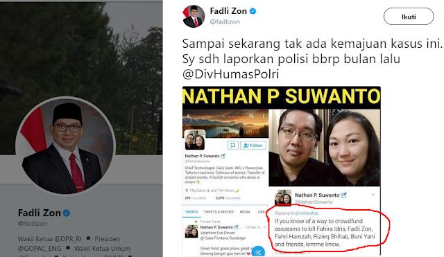 Dahnil Anzar: Identitas Yang Mau Bunuh Fadli Zon Jelas, Kok Enggak Ditangkap?