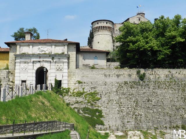 ingresso castello di brescia