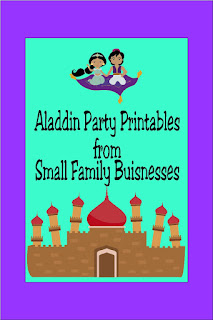 Look for great Aladdin party ideas or last minute party printables for your Aladdin or Jasmine party with these party printables while supporting fairy tale dreams of small businesses across the world.