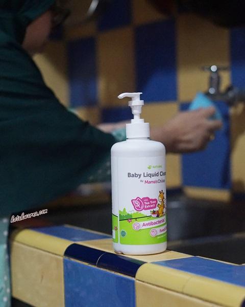 mama's choice, sabun pencuci botol bayi, baby liquid cleanser