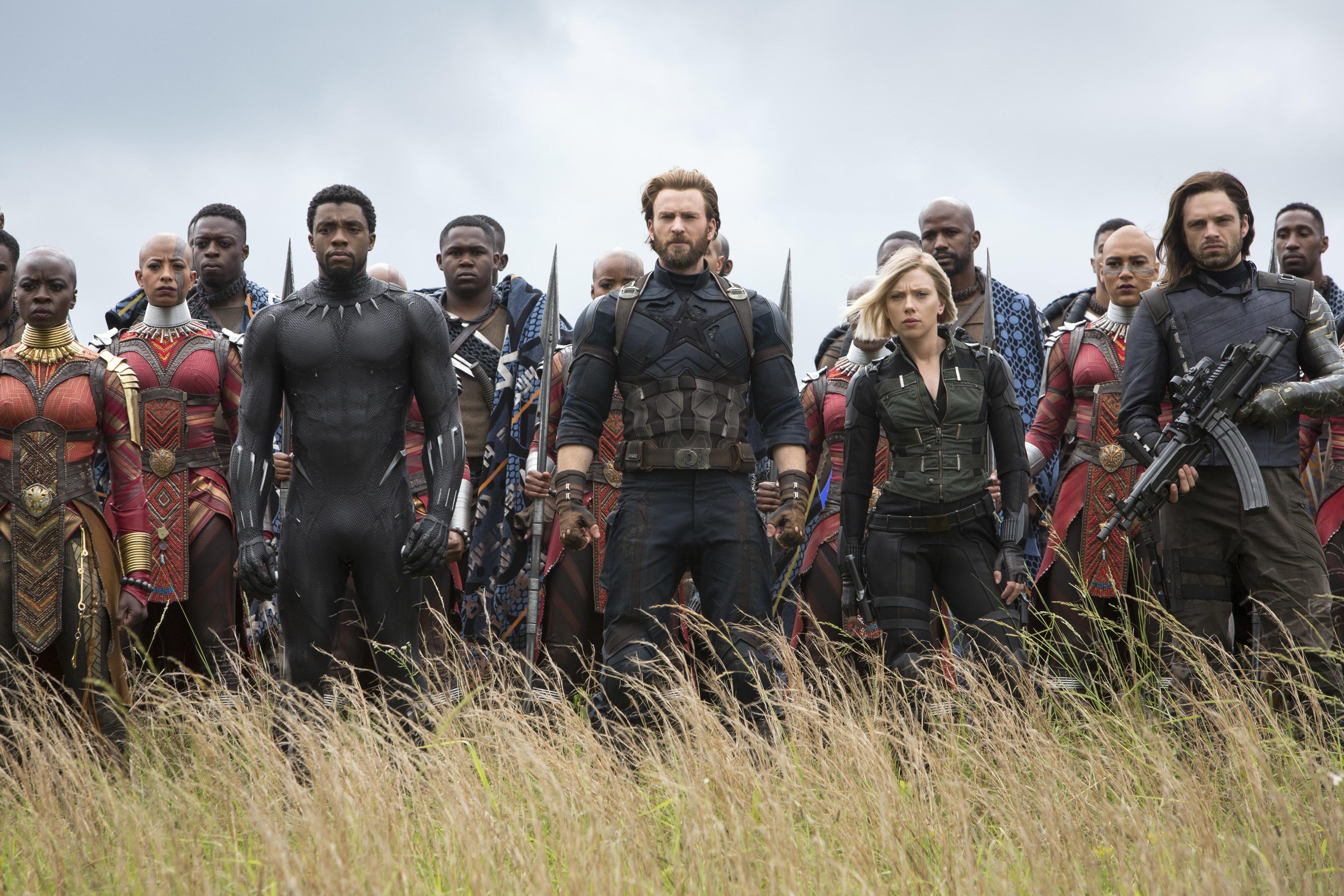 Captain America and Black Panther to outrun Wakandan warriors in Infinity War :「アベンジャーズ : インフィニティ・ウォー」のクライマックスのワカンダ決戦のシーンで、キャプテン・アメリカとブラック・パンサーが猛烈なスピードで走ることができた理由 ! !