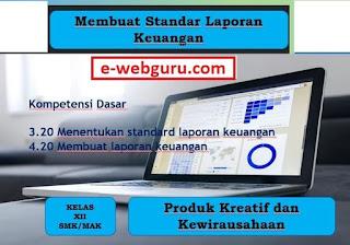 menentukan standard laporan keuangan