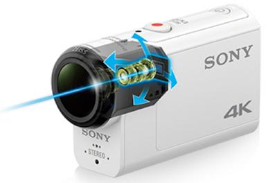Система стабилизации B.O.S.S. в камере Sony FDR-X3000
