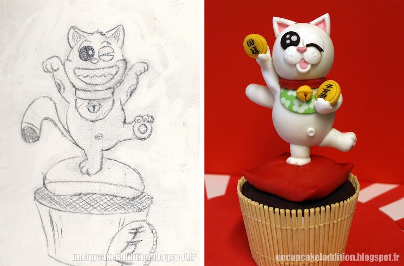Expo Tarta 2013 :  Cupcakes Japonais - Le Maneki Neko