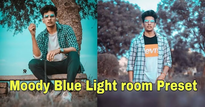 Moody Blue Lightroom Mobile Preset Free Download - New 2020