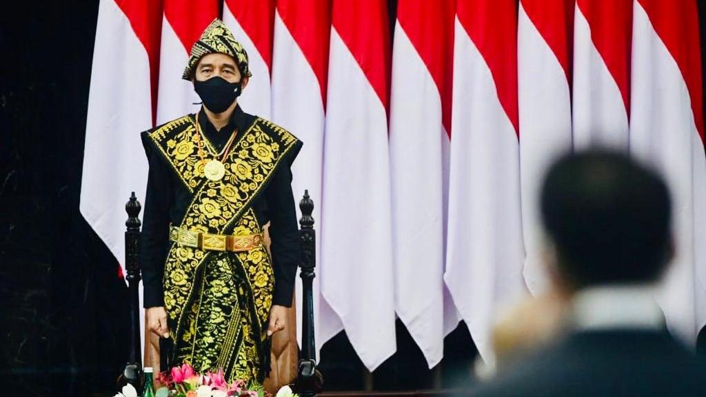 Jokowi Minta Jangan Ada yang Merasa Paling Agamis