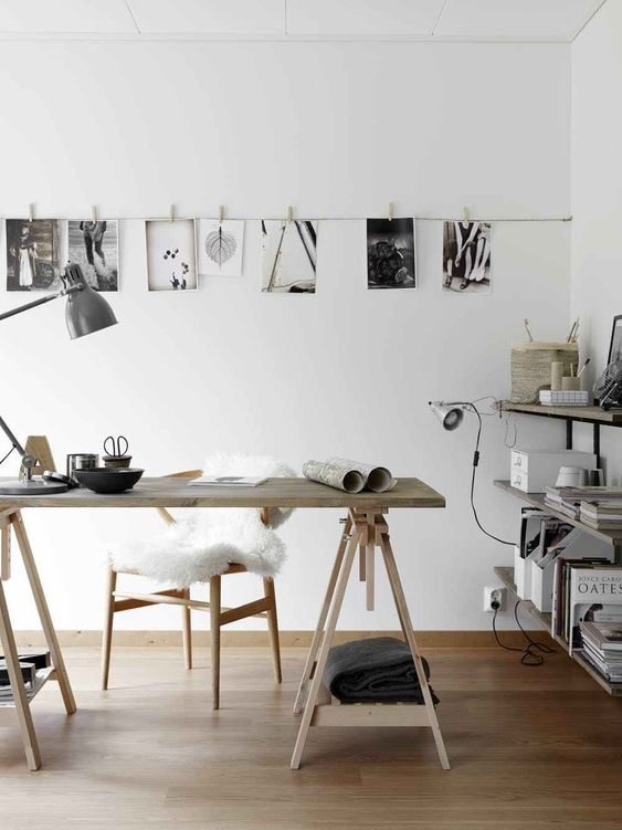 alternative art display idea to bring your walls to life