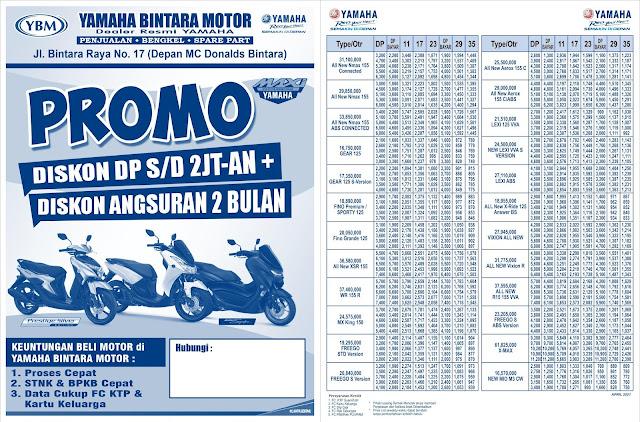 Promo Yamaha Bintara, Promo Yamaha Bintara Bekasi