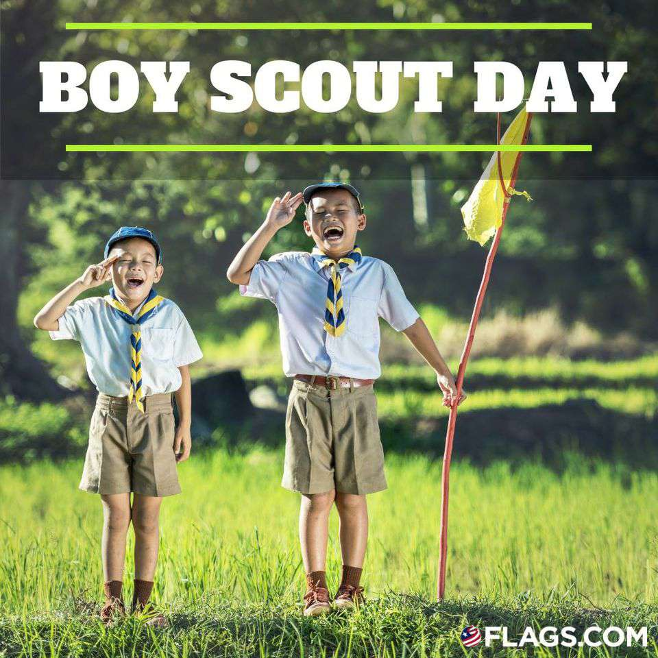 National Boy Scout Day Wishes Unique Image