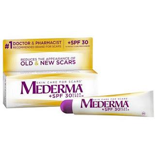cara menghilangkan bekas jerawat Mederma Scar Cream Plus