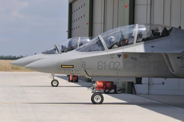 Switzerland pilot training Italy