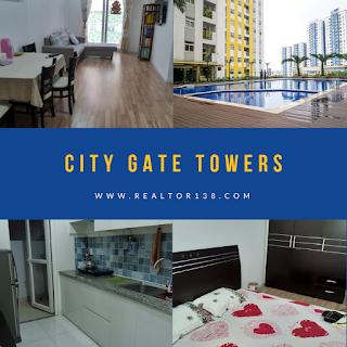 Căn hộ 02 phòng ngủ chung cư City Gate cho thuê giá rẻ 2019