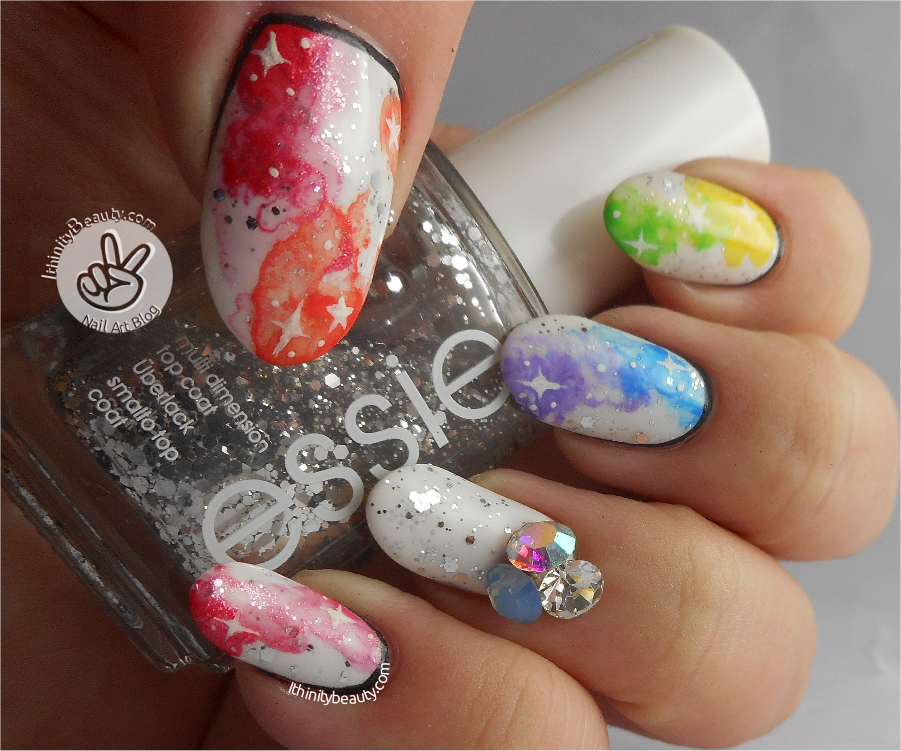 3D Nail Decoration Colorful Rhinestone Sharp BottomManicure Art Gasps For Air Or In Shorter Words Mixed Coloured Diamond