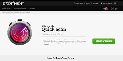 free online virus scanner