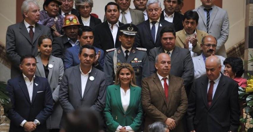 11 ministros del gabinete Boliviano contrajeron coronavirus
