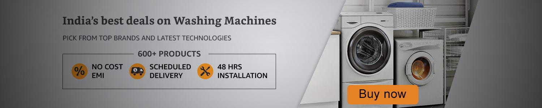 Washing Machine start from Rs 9999