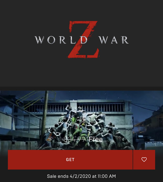 Epic Games: World War Z (PC Digital Download) Free